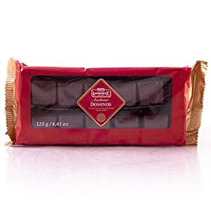 Lambertz Dominos Dark Chocolate 125g