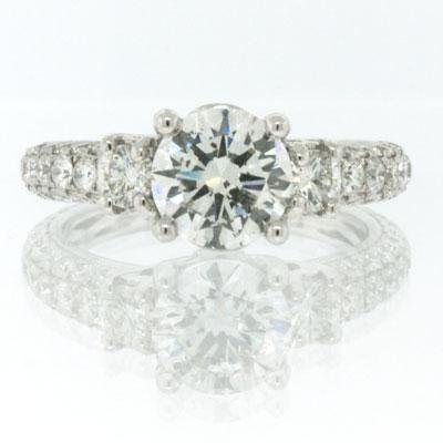2.77ct Round Brilliant Cut Diamond Engagement