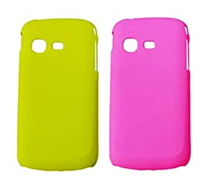 2 pieces of Winsome Deal Exclusive Hard Back Cover Case for Samsung Galaxy Chat B5330