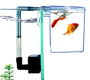 Finnex External Refugium/Breeder Hang-On Box/Water Pump