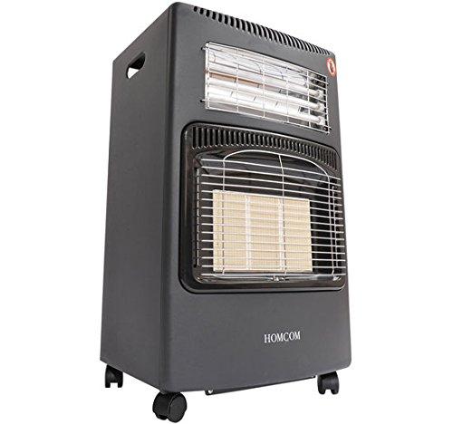 Estufa a gas o eléctrica con potencia máxima de 4,2kw