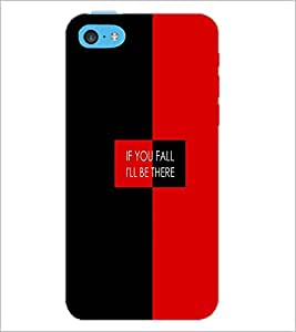 PrintDhaba Quote D-4226 Back Case Cover for APPLE IPHONE 5C (Multi-Coloured)
