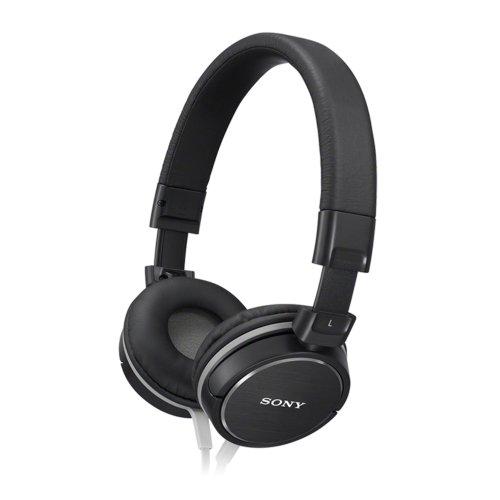 Sony Mdrzx600 Black Over-Ear Headband Headphones Mdr Zx600 Mdr-Zx600B