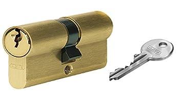 Abus Bosch Noir 2 cylindres de Verrouillage Cylindre de Porte de Bagage Taille Unique