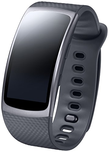 Samsung Gear Fit 2 Smartwatch, Taglia L, Nero