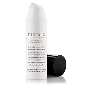 philosophy miracle worker anti-aging for blemish pone skin