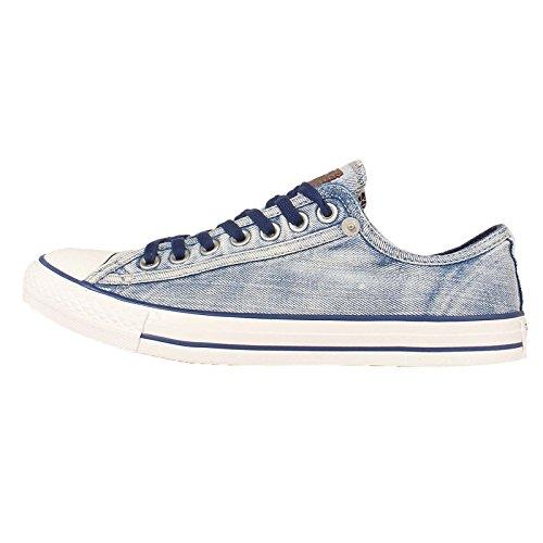 Converse Mens Chuck Taylor All Star, BLUE/WHITE
