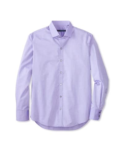 Zachary Prell Men's Bruckner Solid Long Sleeve Shirt