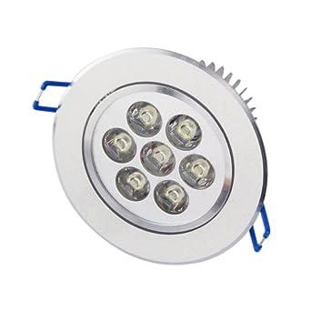 12pcs aubig 5w led einbaustrahler einbaustrahler spotlight leuchte lampe white 110v 220v. Black Bedroom Furniture Sets. Home Design Ideas