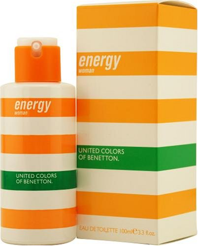 Energy Woman by Benetton 3.3oz 100ml EDT Spray