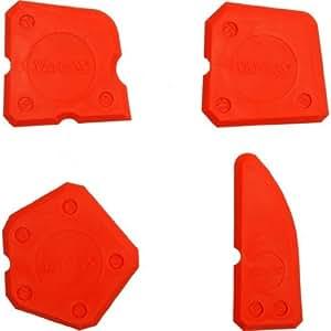 Yato professional silicone finishing tool kit set of 4 silicone spreader (YT-5261)
