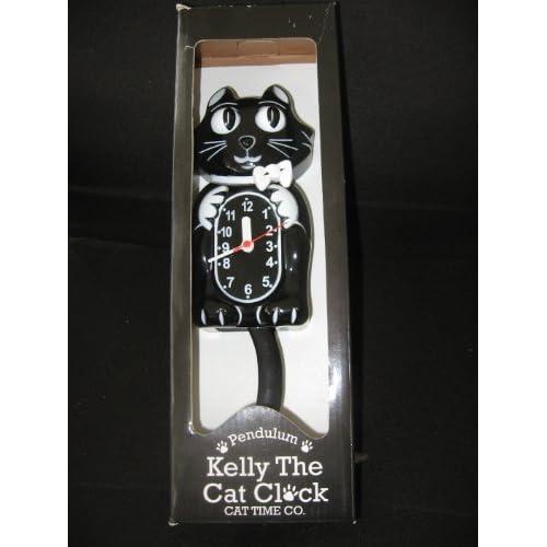 Amazon.com - Kelly the Cat Clock - Wall Clocks