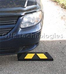Einzel Gummi Parkplatzbegrenzung für Parkplätze und Garagen 55x15x10cm