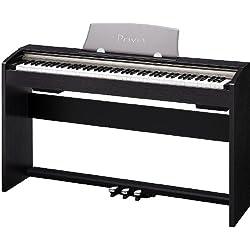 CASIO 電子ピアノ Privia ブラックウッド調 鍵盤数88標準ピアノ形状鍵盤 PX-730BK