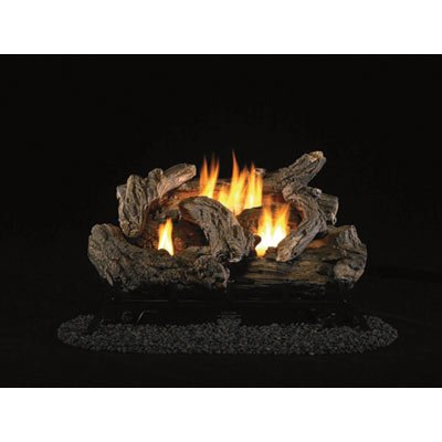 ProCom Dual Fuel Vent-Free Gas Log Set - 32,000 BTU, Model# PCD24TD
