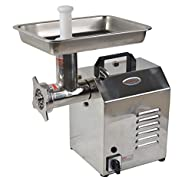 Hakka Brothers TC Series Commercial Stainless Steel Electric Meat Grinders (TC8)