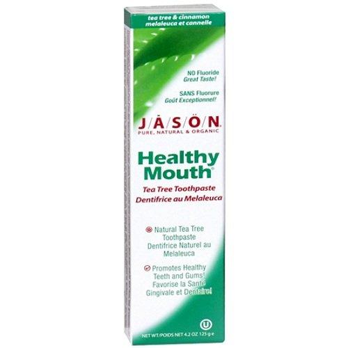Jason Natural Healthy Mouth Tea Tree Toothpaste 4.2 oz