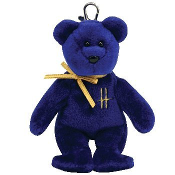 Ty Beanie Babies Omnia - Bear Clip (Harrods UK Exclusive)