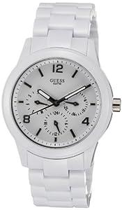 Guess Damen-Armbanduhr Analog Plastik W11603L1