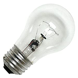 General Electric 40a15 40 Watt Appliance Light Bulb Model 40a15