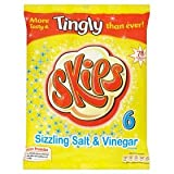 Kp Skips Salt & Vinegar 6 Pack 93g