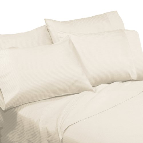 made-in-the-usa-310tc-100-cotton-medici-dobby-stripe-sheet-set-queen-ivory-by-veratex