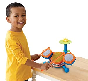VTech KidiBeats Kids Drum Set by V Tech