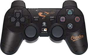 MLB - Baltimore Orioles - Baltimore Orioles - Solid Distressed - Sony PS3 Dual Shock... by Skinit