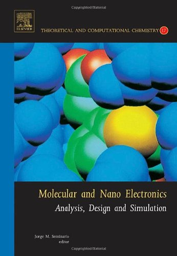 Molecular and Nano Electronics: Analysis, Design and Simulation, Volume 17 (Theoretical and Computational Chemistry)