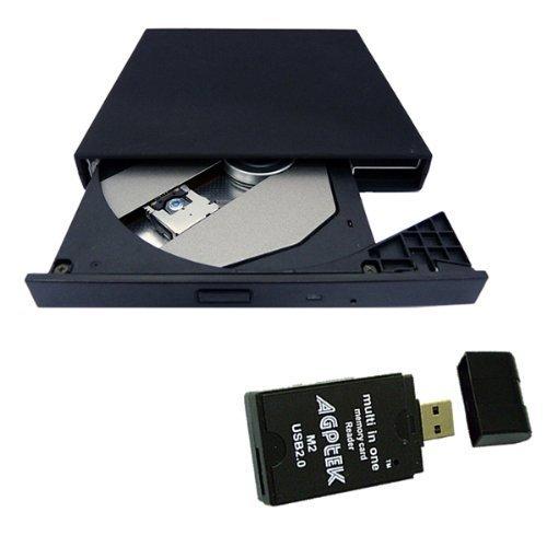 Brainydeal Slim portable External Slim USB 2.0 CD-ROM Drive for Acer Aspire One 8.9