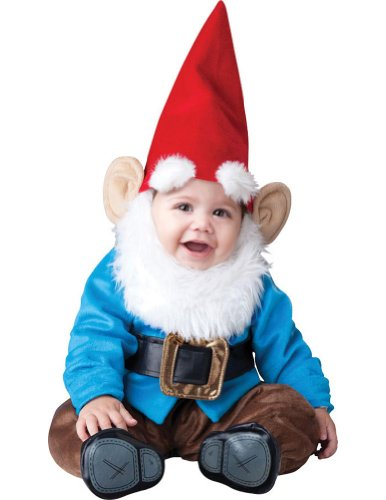 Baby-Toddler-Costume Lil Garden Gnome Toddler Costume 12-18 Months