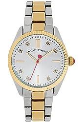 Betsey Johnson Women's Two-Tone Bracelet Watch 36mm BJ00441-04