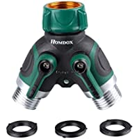 Homdox 4-Way/2 Way Water Hose Manifold Connector Garden Watering Splitter OO55