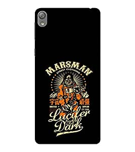 EPICCASE Marsman Mobile Back Case Cover For Sony E5 (Designer Case)