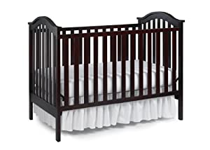 LaJobi Nursery 101 Coconcord Classic Crib, Cherry