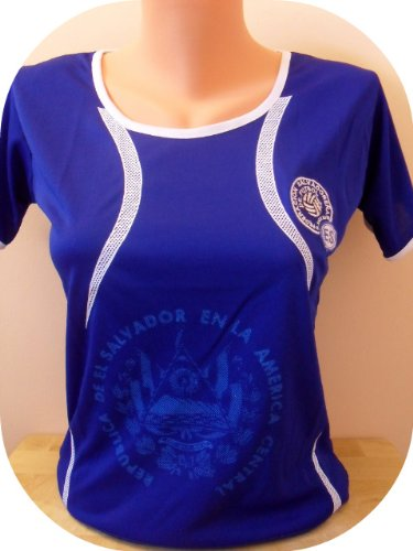 separation shoes b3915 250ef Soccer Jerseys: WOMEN EL SALVADOR SOCCER JERSEY FUTBOL .NEW.BLUE