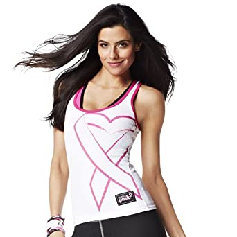 Buy Zumba Fitness Groove for the Cure Racerback by Zumba Fitness