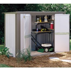 Arrow EZL83, Ezee Locker 8′ x 3′ Outdoor Storage Shed (EZL83) Category: Arrow Sheds