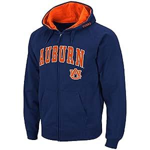 Amazon.com : Mens NCAA Auburn Tigers Full-zip Hoodie (Team ...