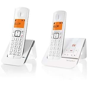Alcatel Versatis F230 Voice Duo Téléphone sans fil Gris