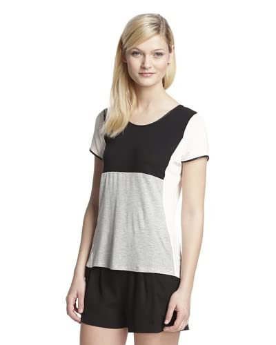 Romeo & Juliet Couture Women's Colorblock Top