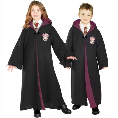 harry potter costume	available sizes (age