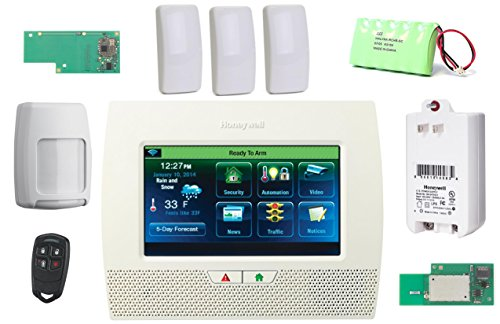 Honeywell Lynx Touch L7000 Wireless Security Alarm/Home Automation Slim Line Kit with Wifi and Zwave Module (2gig Garage Door Sensor compare prices)