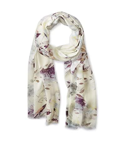 Saachi Women's Spring Is In The Air Scarf, Ivory