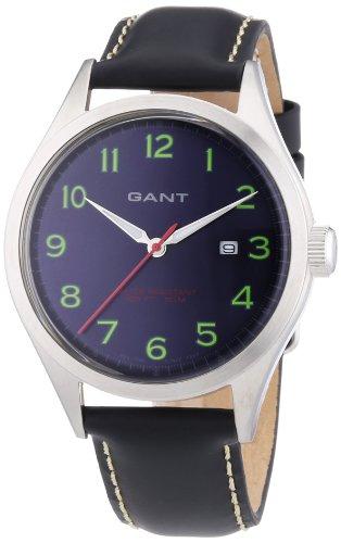 GANT W70462 - Orologio da polso uomo, pelle, colore: blu