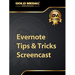 Evernote Tips and Tricks Screencast