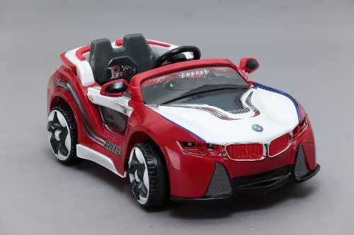 Power Bmw Style I-8 Car New Power Ride On Toy Electric Car With Mp3 Connection 2 Motors And 2 Battery