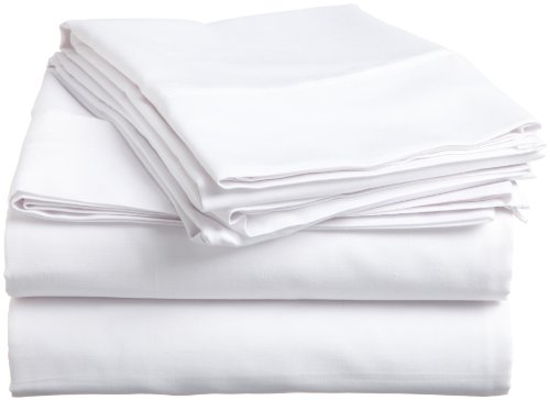 Impressions Genuine Egyptian Cotton 300 Thread Count Twin Xl 3-Piece Sheet Set Solid, White back-905437