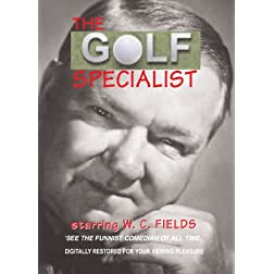 WC Fields selected shorts including Golf