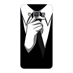 Impressive Tie Knot Back Case Cover for Galaxy A3